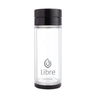 YumNaturals Emporium - Bringing the Wisdom of Mother Nature to Life - Libre Durable Glass Infuser – Black Brush