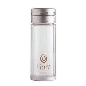 YumNaturals Emporium - Bringing the Wisdom of Mother Nature to Life - Libre Durable Glass Infuser – Classic Silver