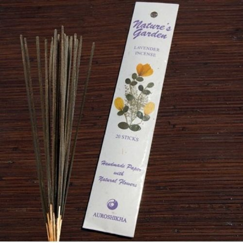 YumNaturals Emporium - Bringing the Wisdom of Nature to Life - Nature's Expression Incense LAVENDER