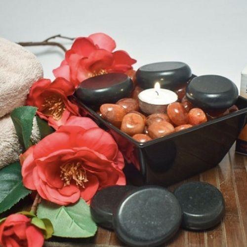 YumNaturals Emporium - Bringing the Wisdom of Mother Nature to Life -Massage Stone Therapy Set Hot Stone Basalt