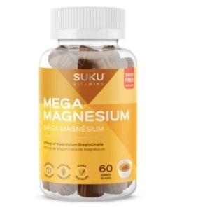 YumNaturals Emporium - Bringing the Wisdom of Mother Nature to Life -SUKU Mega Magnesium 60 gummies