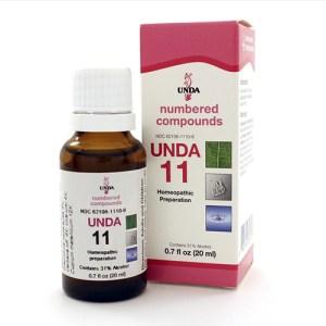 Yum Naturals Emporium - Bringing the Wisdom of Nature to Life - UNDA 11 Numbered Compounds