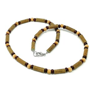 YumNaturals Emporium - Bringing the Wisdom of Mother Nature to Life - Hazelwood Natural Brown Necklace 1