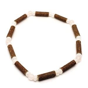 YumNaturals Emporium - Bringing the Wisdom of Mother Nature to Life - Hazelwood Rose Quartz Single Bracelet 1