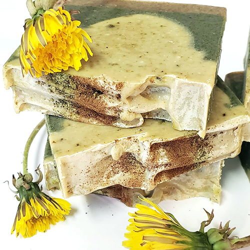 YumNaturals Bringing the Wisdom of Nature to Life - All Dandelion Medical Soap 2