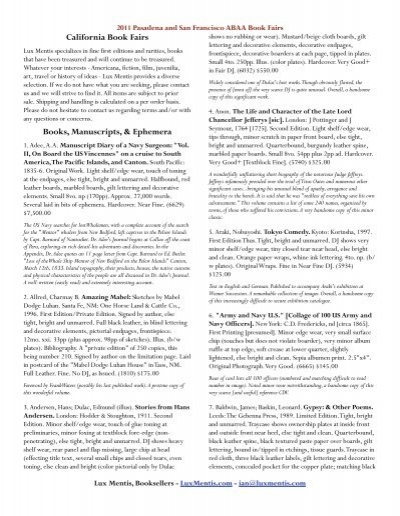 Traduction Memories Maroon 5 : traduction, memories, maroon, California, Fairs, Books,, Manuscripts,, Ephemera, Mentis