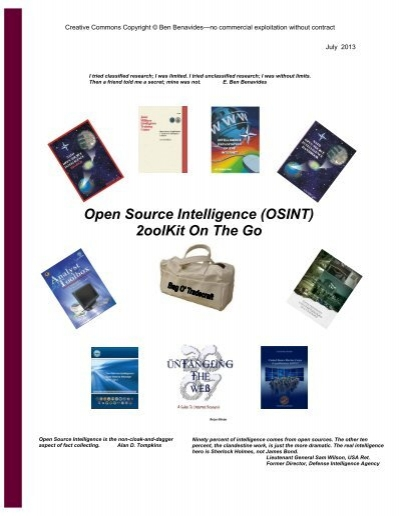 Felonspy : felonspy, 2013-07-11, OSINT, Public, Intelligence
