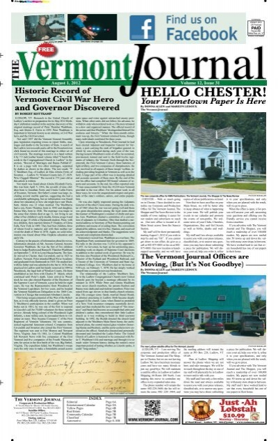 Plus Belle La Vie 3908 : belle, Vermont, Journal, August, 2012.pdf