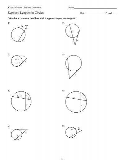 11segment Lengths In Circles