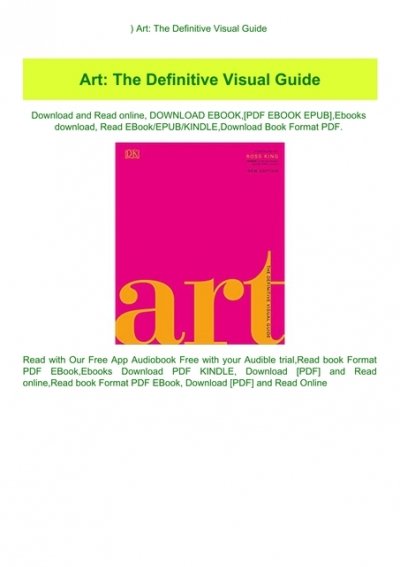 Art The Definitive Visual Guide : definitive, visual, guide, DOWNLOAD-PDF), Definitive, Visual, Guide, (READ, EBOOK)
