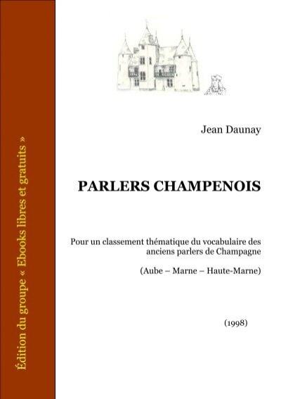 Bouilles De Vignerons Mots Croisés : bouilles, vignerons, croisés, PARLERS, CHAMPENOIS, Vignerons, Riceys