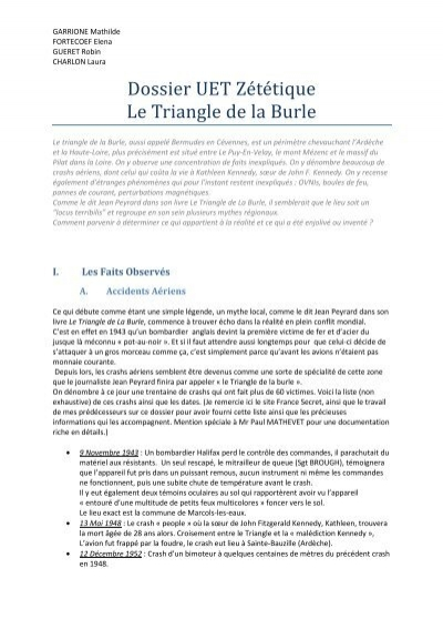 Le Triangle De La Burle : triangle, burle, Triangle, Burle