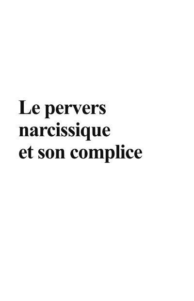 Les Différents Types De Narcissisme : différents, types, narcissisme, Pervers, Narcissique, Complice, Dunod