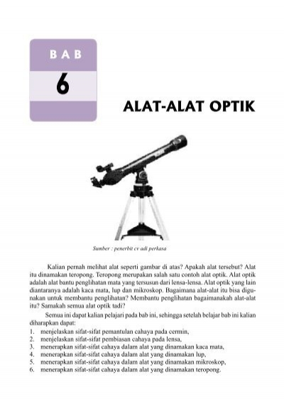 Alat Optik : optik, Alat-Alat, Optik