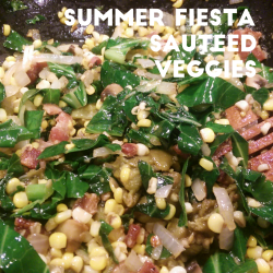 Summer Veggies with Bacon