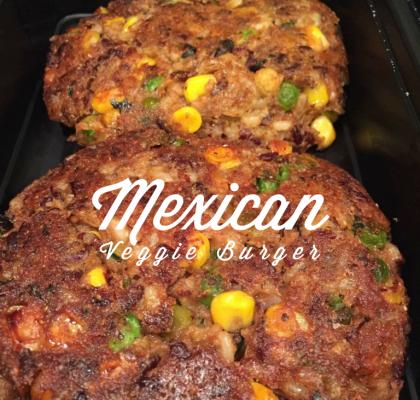 Mexican Veggie Burger
