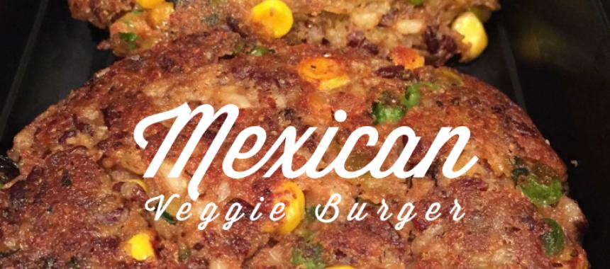 Gluten Free Mexican Veggie Burger