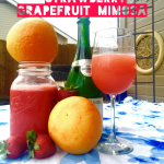 Organic Strawberry Grapefruit Mimosa