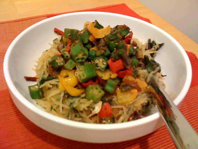 SpaghettiSquash&Vegetables