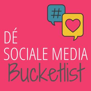 Sociale media bucketlist