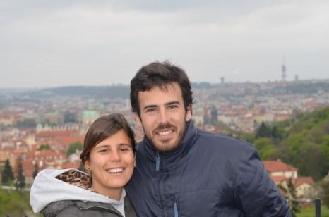 Praga 2014 con mi hermano