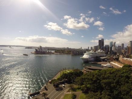 Sydney visto desde el puente