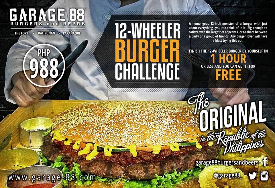Garage88 Burgers And Beers' Flow Friday 10% Off — Yuneoh