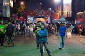 Pintu masuk Surabaya Urban Culture Festival