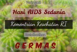 Peringati Hari AIDS Sedunia, Kemenkes sosialisasikan GERMAS