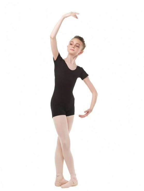 Комбинезон с короткими рукавами для гимнастики и танцев Solo