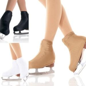 Термочехлы на коньки (ботинки) из термобифлекса (телесные, чёрные)