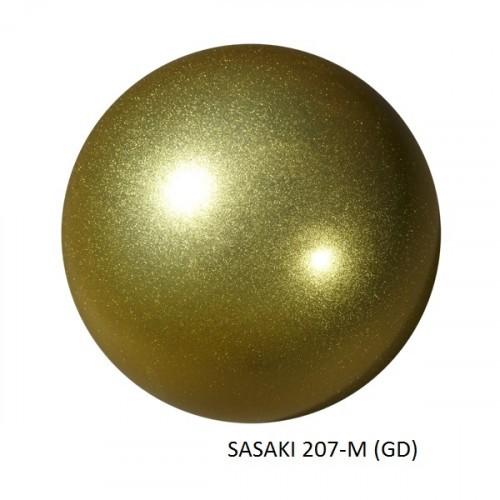 Мяч SASAKI с блестками M-207M 18,5 cm - Голубой
