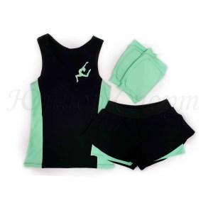двойные шорты +для художественной гимнастики