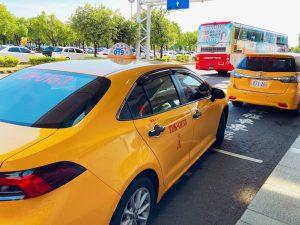 防疫タクシー
