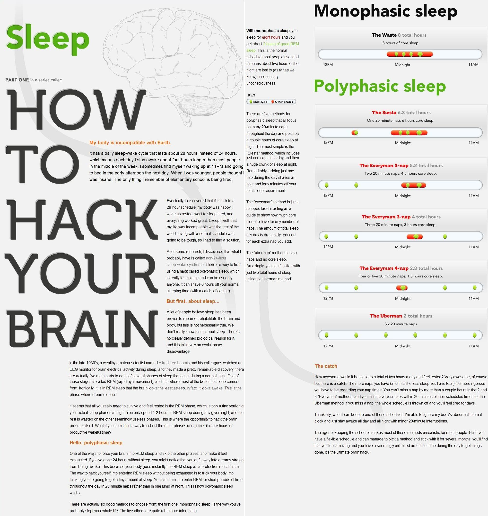 How to Hack Your Brain: Sleep