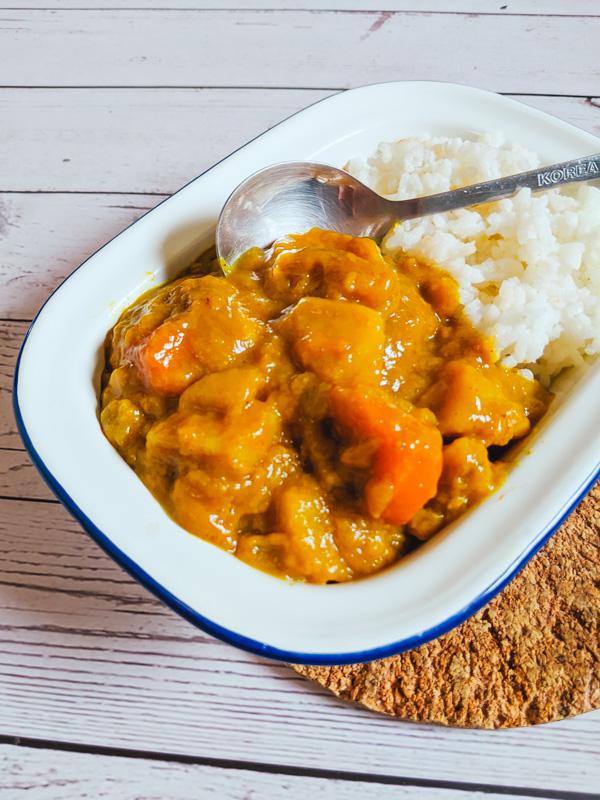Curry au poulet