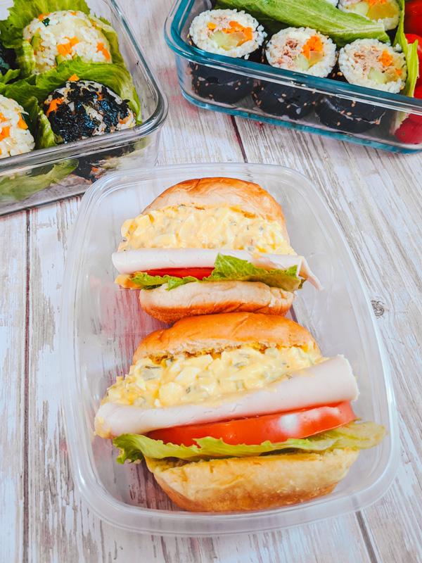 Sandwich à la salade d'oeuf