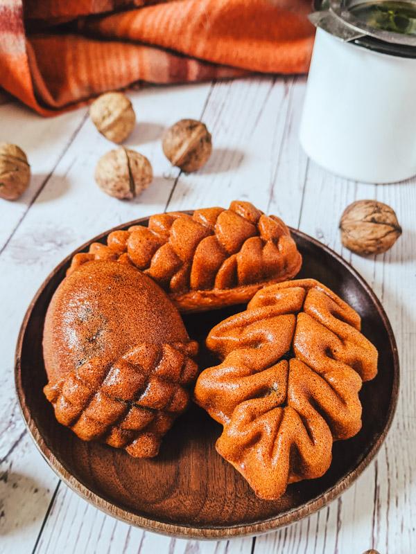 hodu gwaja gateau de haricot rouge et noix coreen