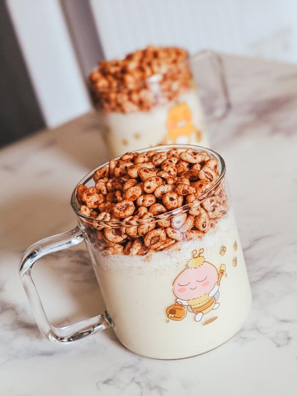 Jollypong Latte, boisson fraiches aux céréales coréennes