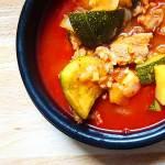 Recette coréenne de soupe épicée, le Gochujangjjigae