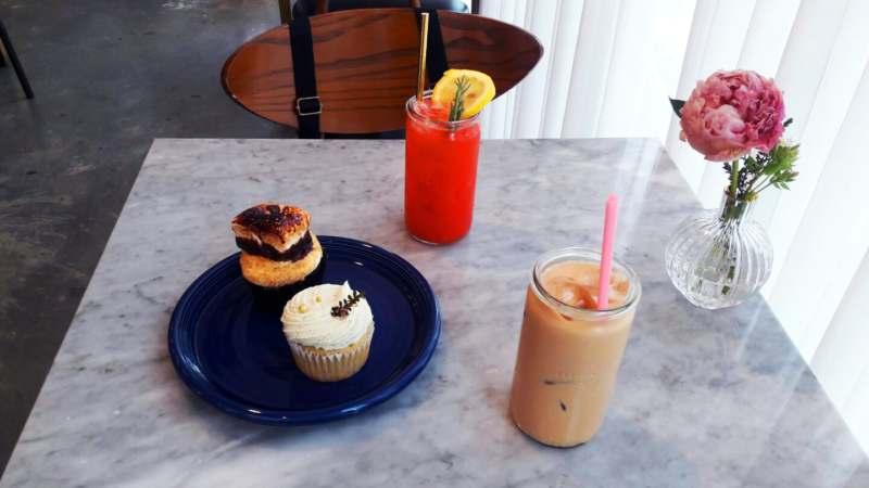 Cupcakes du café Creamfields