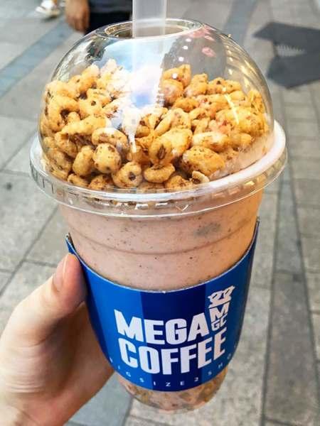 Jollypong Latte d'un café coréen