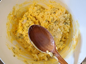 egg sandwich etape 6