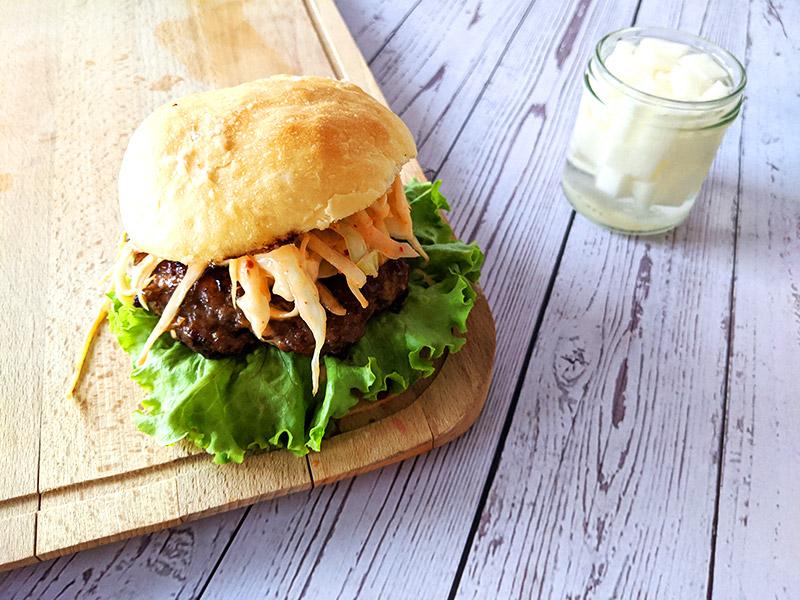 hamburger coréen