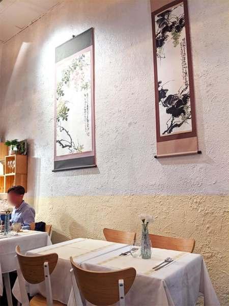 décoration intérieur du restaurant le gout de kyun