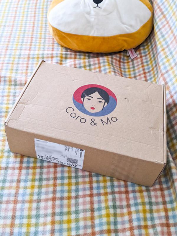 box de fevrier caro et ma box coreenne