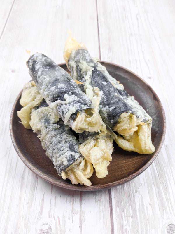 kimmali, rouleaux d'algues frits coréens