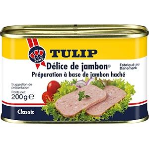 delice de jambon de la marque tulip