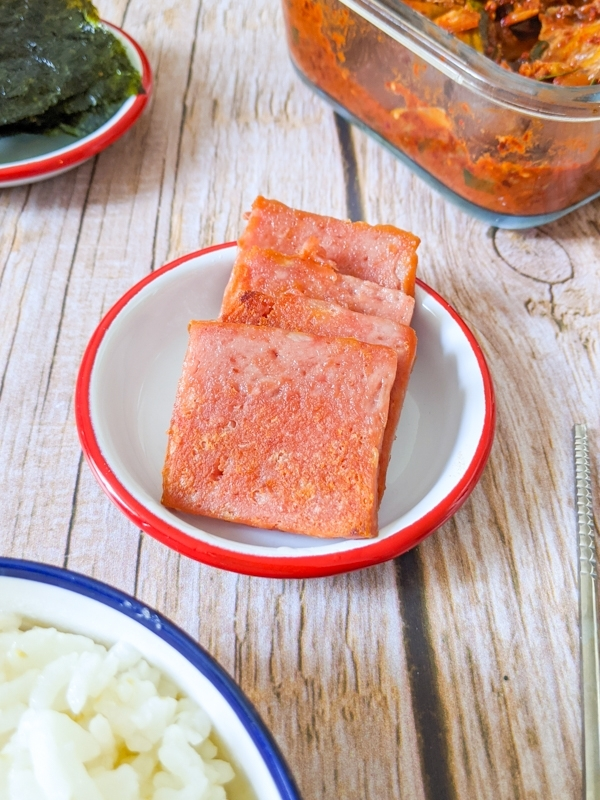 spam grillé coréen