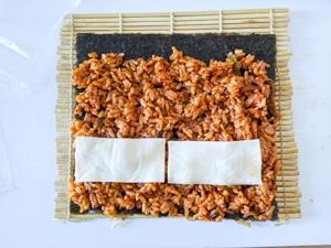 kimbap piquant etape 12